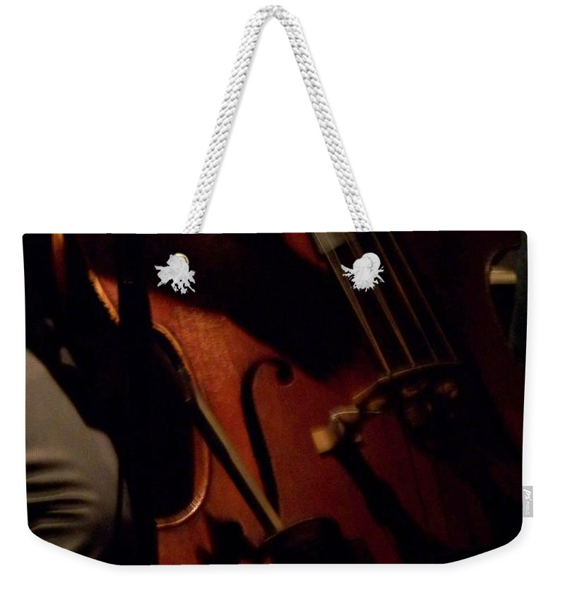 Jazz Weekender Tote Bag featuring the photograph Jazz Estate 1 by Anita Burgermeister