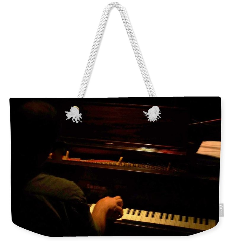 Jazz Weekender Tote Bag featuring the photograph Jazz Estate 11 by Anita Burgermeister