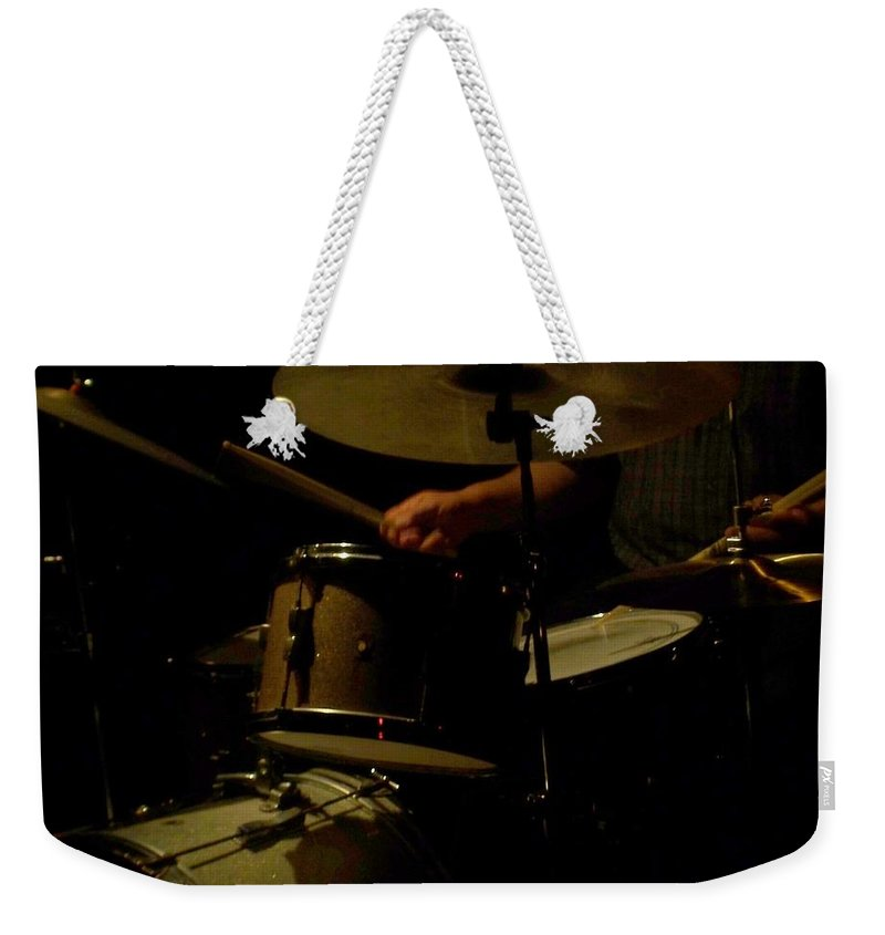 Jazz Weekender Tote Bag featuring the photograph Jazz Estate 2 by Anita Burgermeister