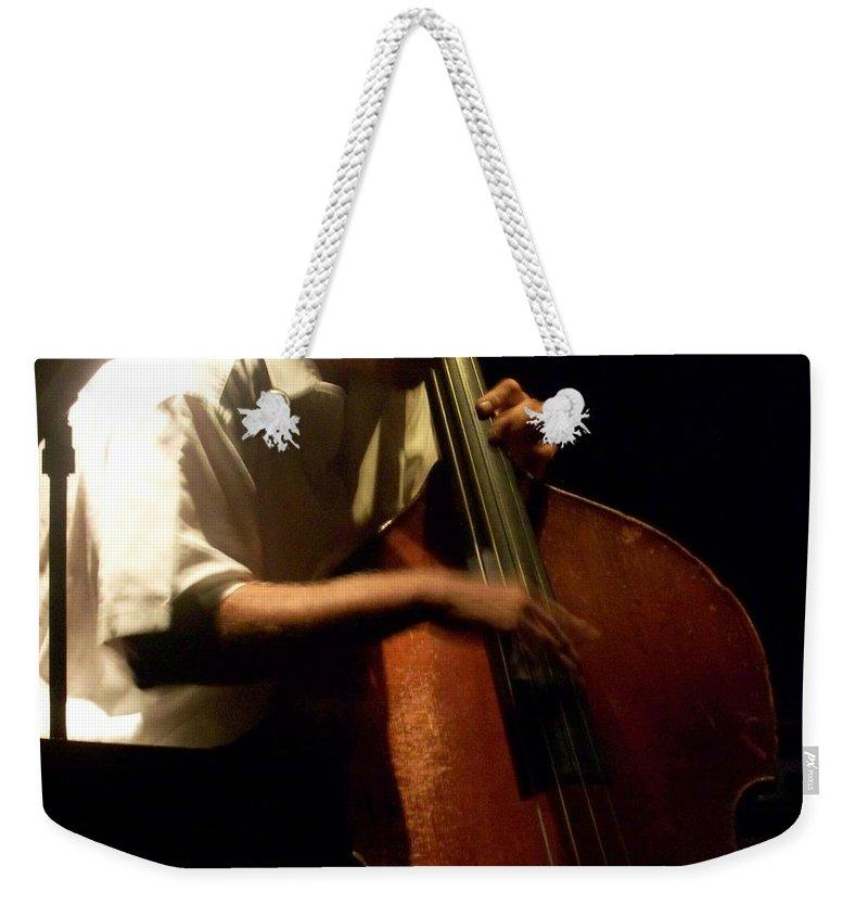 Jazz Weekender Tote Bag featuring the photograph Jazz Estate 5 by Anita Burgermeister