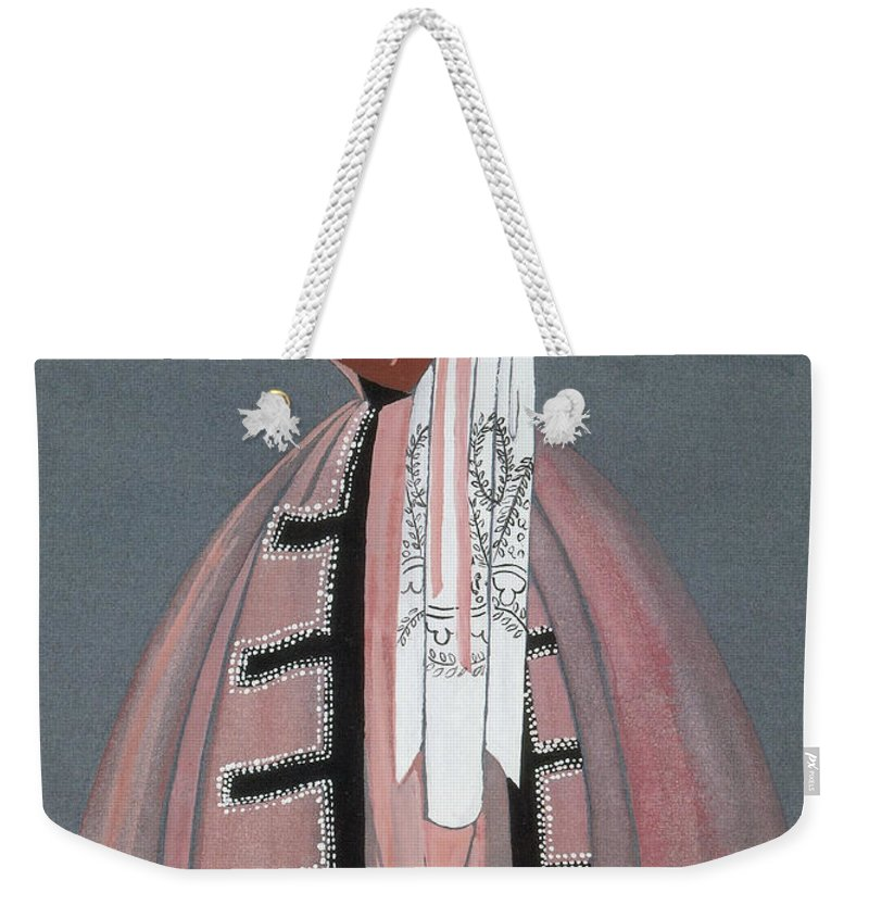 Fashion Weekender Tote Bag featuring the photograph Jeanne Lanvin Design, 1925 by Science Source