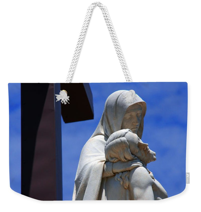 Jesus And Maria Weekender Tote Bag featuring the photograph Jesus And Maria by Susanne Van Hulst