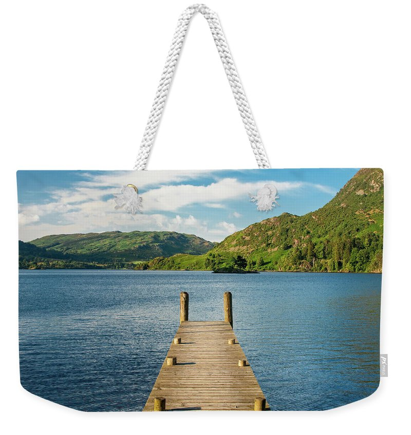 Pier Weekender Tote Bag featuring the photograph Jetty by Julian Regan