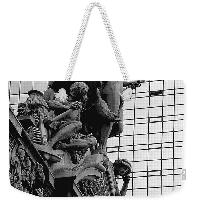 Carving Weekender Tote Bag featuring the photograph Jewel In The Crown by RC DeWinter