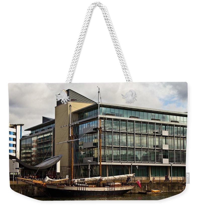 Johanna Lucretia Weekender Tote Bag featuring the photograph Johanna Lucretia by Brian Roscorla