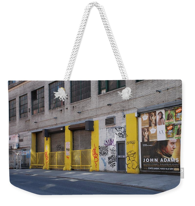 Architecture Weekender Tote Bag featuring the photograph John Adams by Rob Hans