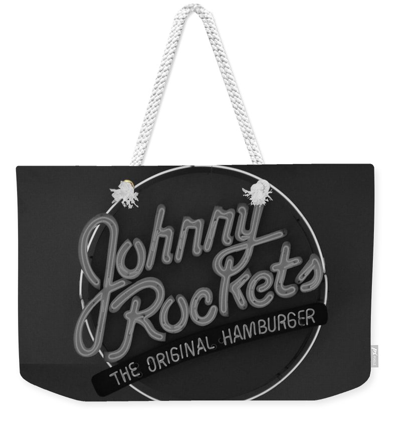 Macro Weekender Tote Bag featuring the photograph Johnny Rockets by Rob Hans
