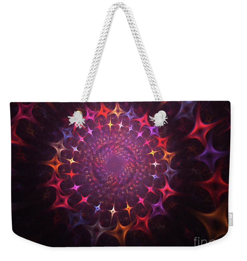 Souls Weekender Tote Bag featuring the painting Journey Of The Souls by Steve K
