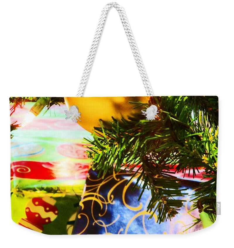 Christmas Weekender Tote Bag featuring the photograph Joy Of Christmas 2 by Don Baker