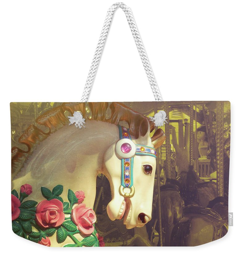 Horse Weekender Tote Bag featuring the photograph Joy Rider by JAMART Photography