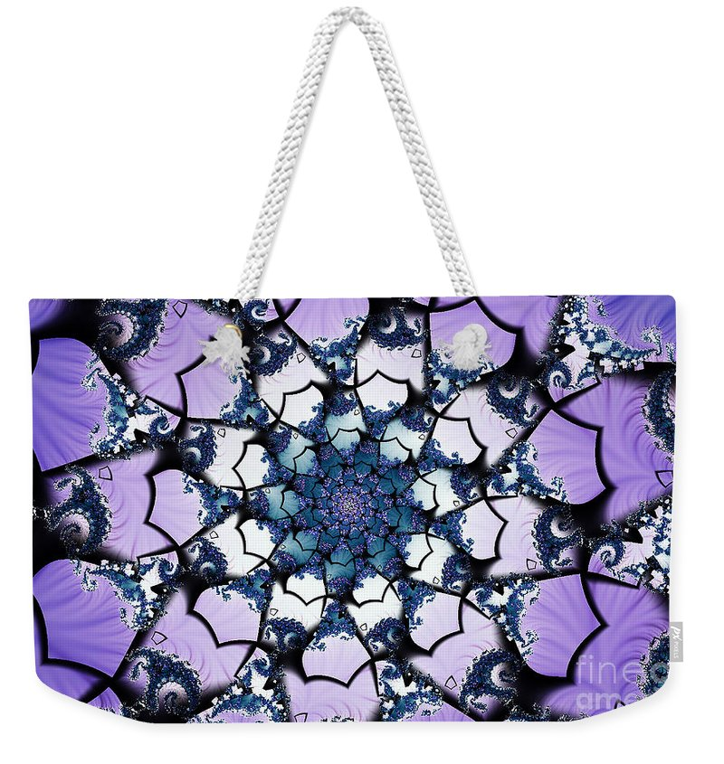 Clay Weekender Tote Bag featuring the digital art Julia by Clayton Bruster