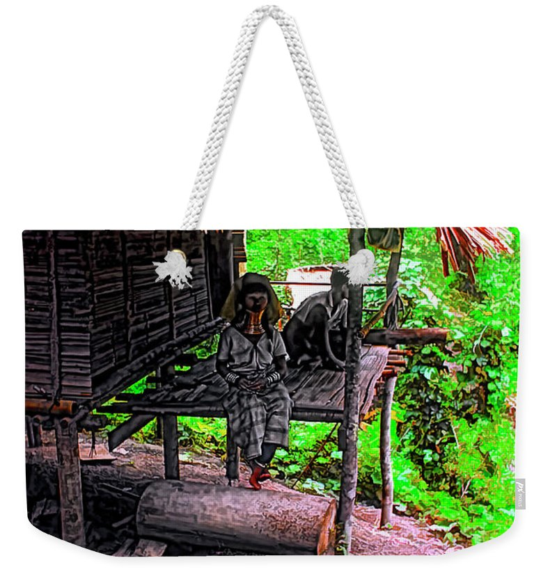 Couple Weekender Tote Bag featuring the photograph Jungle Life by Steve Harrington