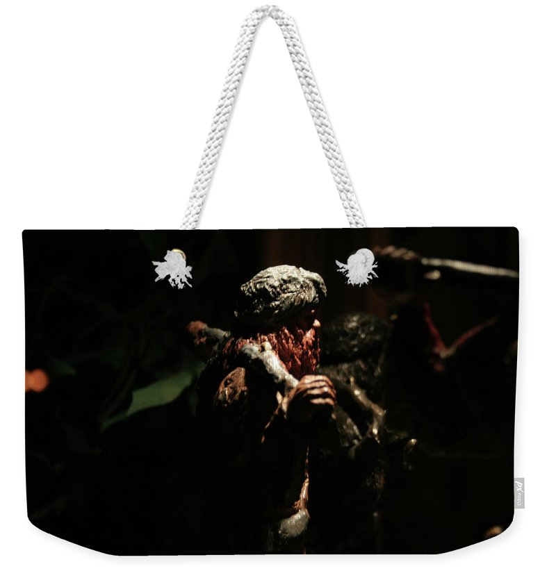 Surreal Weekender Tote Bag featuring the photograph Jungle Out There by Ric Bascobert
