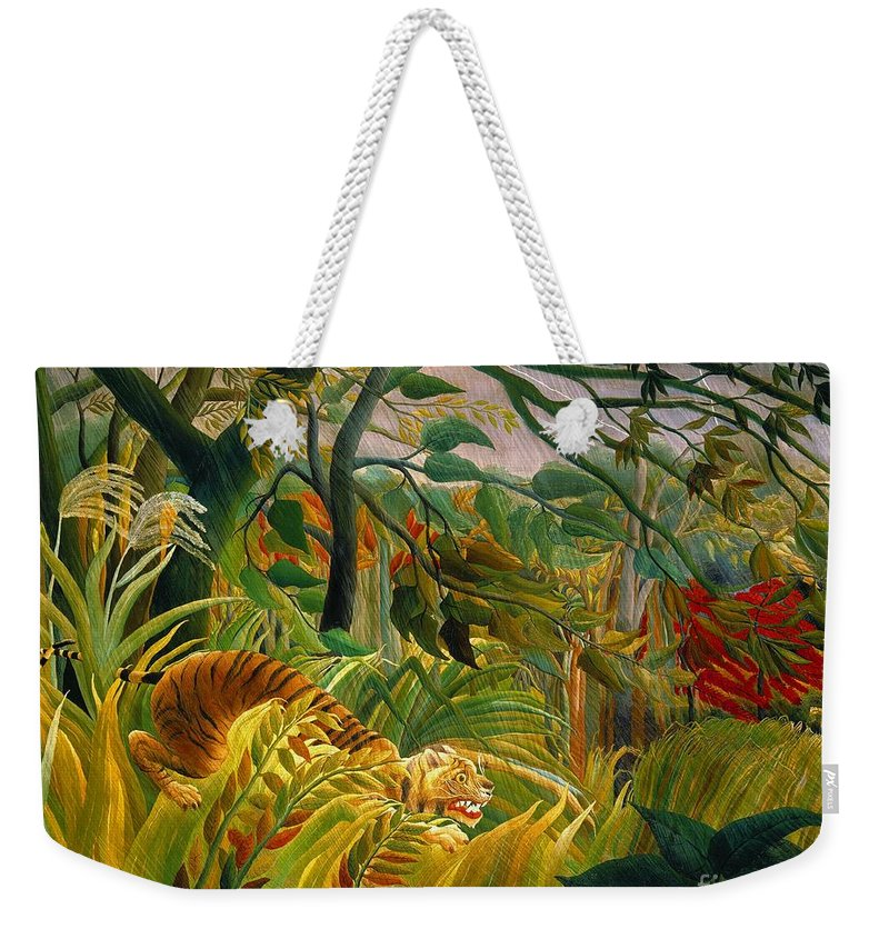Jungle Storm 1891 Weekender Tote Bag featuring the photograph Jungle Storm 1891 by Padre Art