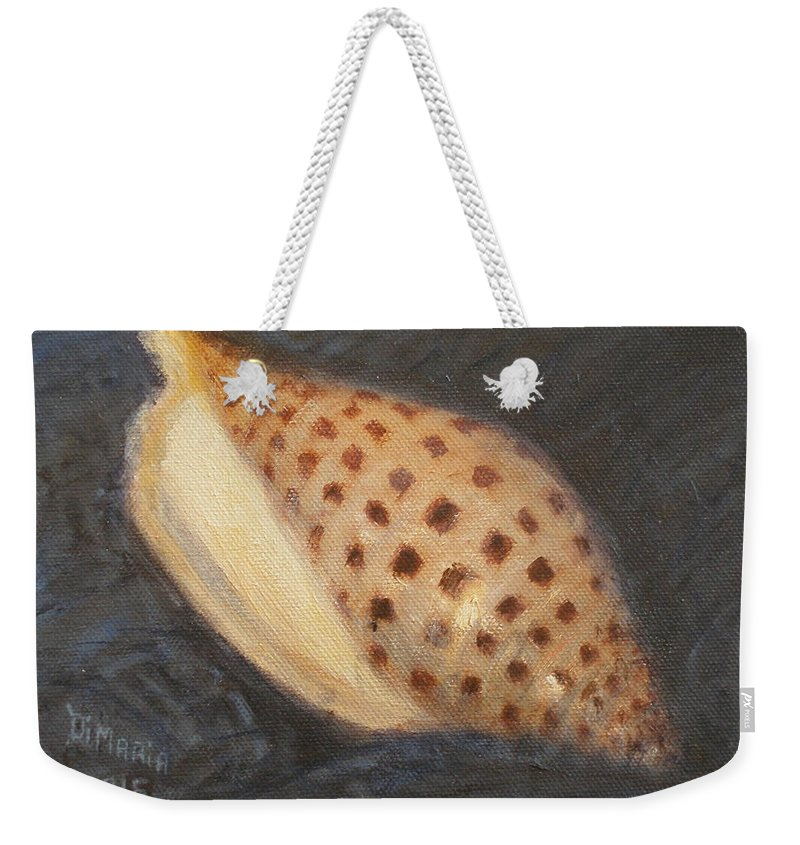 Realism Weekender Tote Bag featuring the painting Junonia by Donelli DiMaria