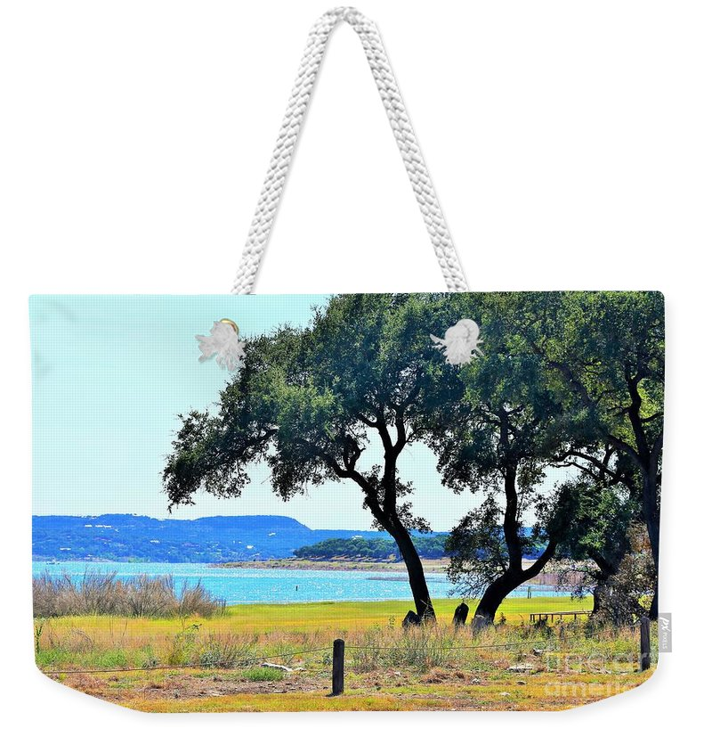 Landscape Weekender Tote Bag featuring the photograph Just A Wonderful Day by Jeff Downs
