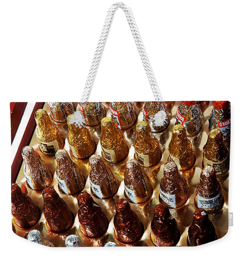 Clay Weekender Tote Bag featuring the photograph Just In Case by Clayton Bruster