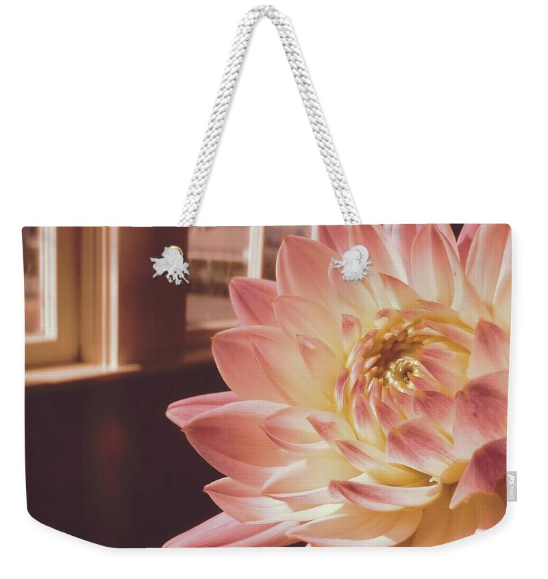 Nantucket Weekender Tote Bag featuring the photograph Just Petals by JAMART Photography