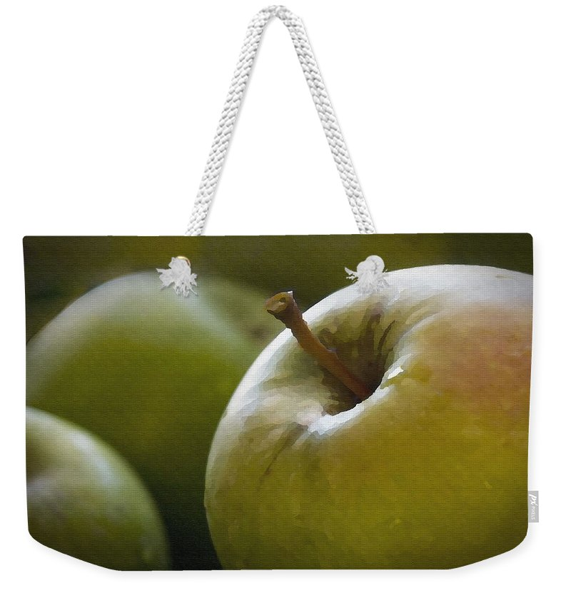 Fruit Weekender Tote Bag featuring the photograph Just Picked by Sharon Foster