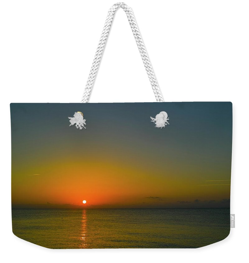 Sunrise Weekender Tote Bag featuring the photograph Justified Narcissism by Roberto Aloi