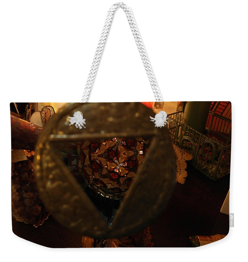Kaleidoscope Weekender Tote Bag featuring the photograph Kaleidoscope by Jeff Swan