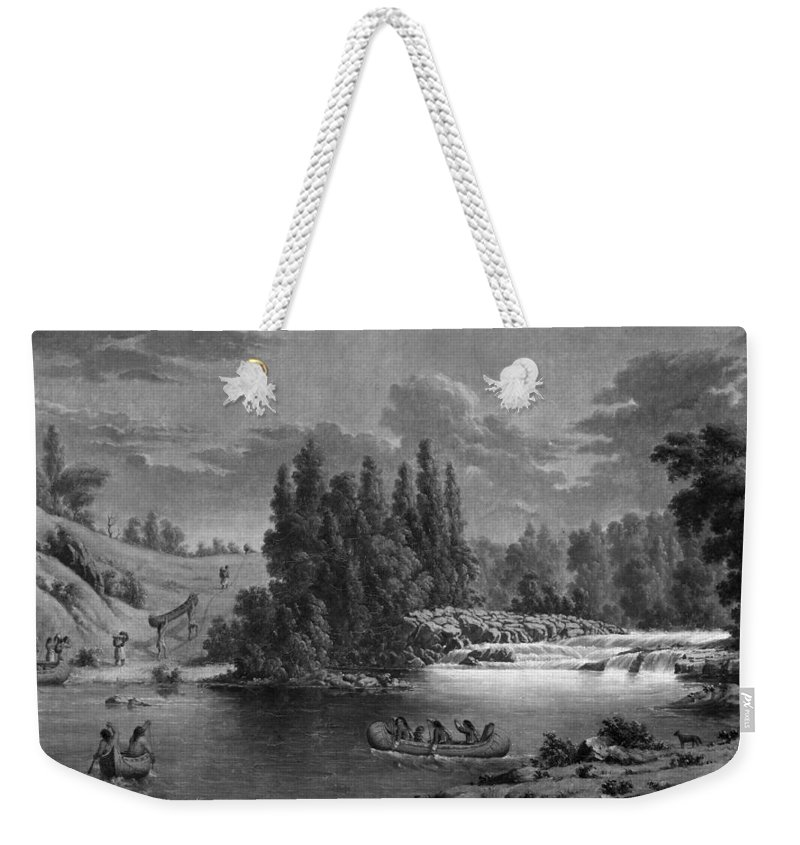 1851 Weekender Tote Bag featuring the photograph Kane: White Mud Portage by Granger