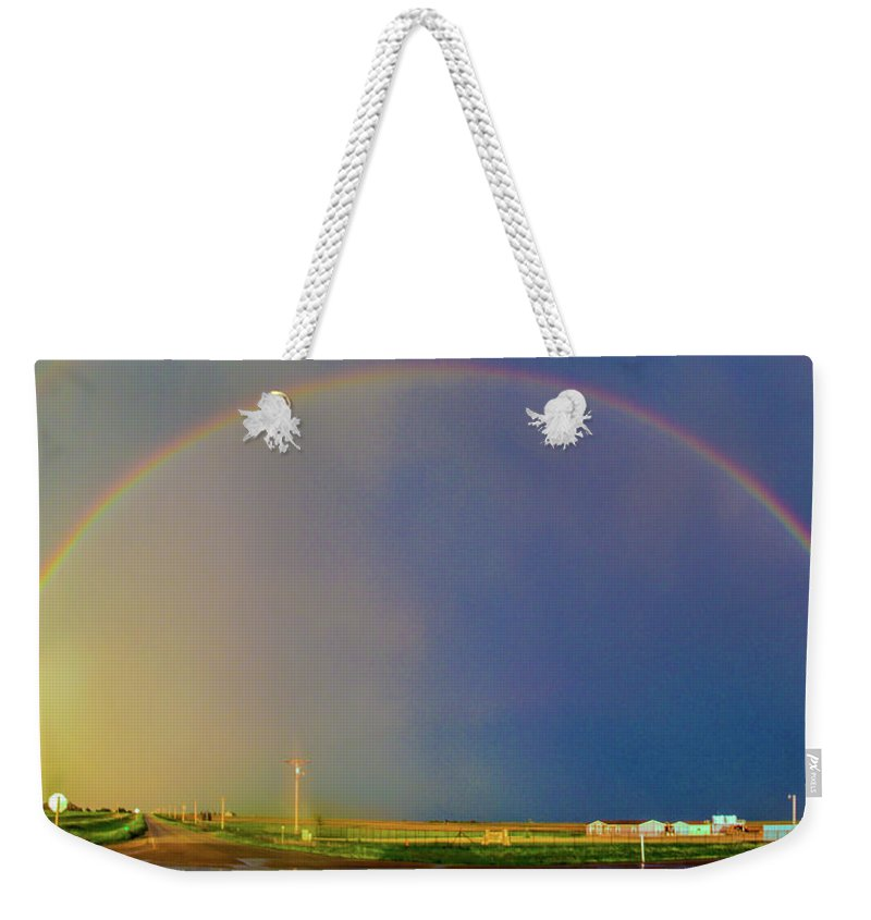Nebraskasc Weekender Tote Bag featuring the photograph Kansas Storm Chase Bust Day 006 by NebraskaSC