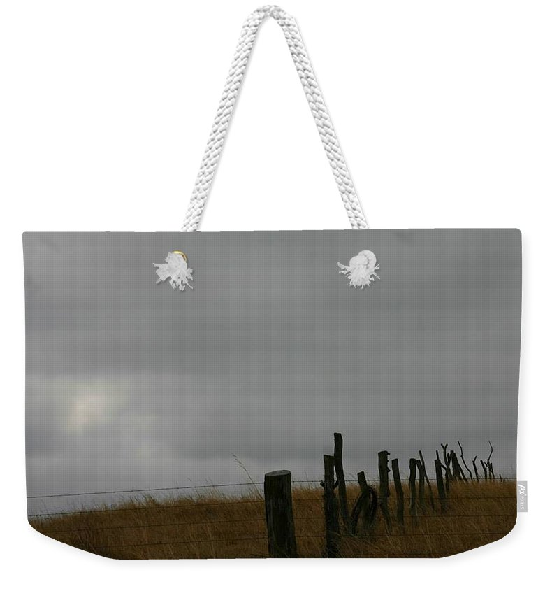 Kansas Weekender Tote Bag featuring the photograph Kansas Winter by Pattie Frost