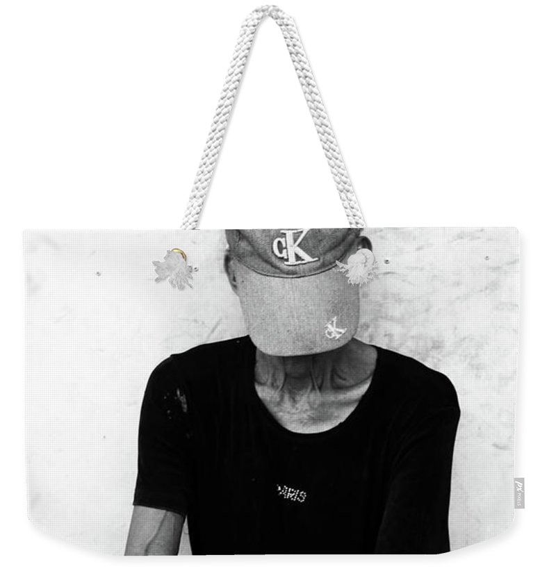 Mati Weekender Tote Bag featuring the photograph ked by Jez C Self