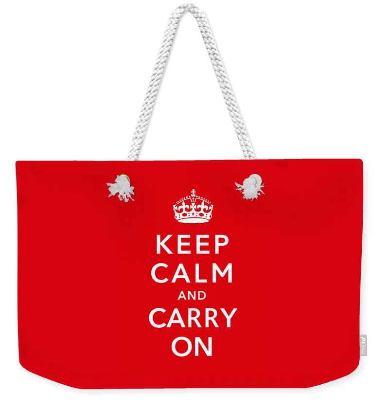 Propaganda Digital Art Weekender Tote Bags