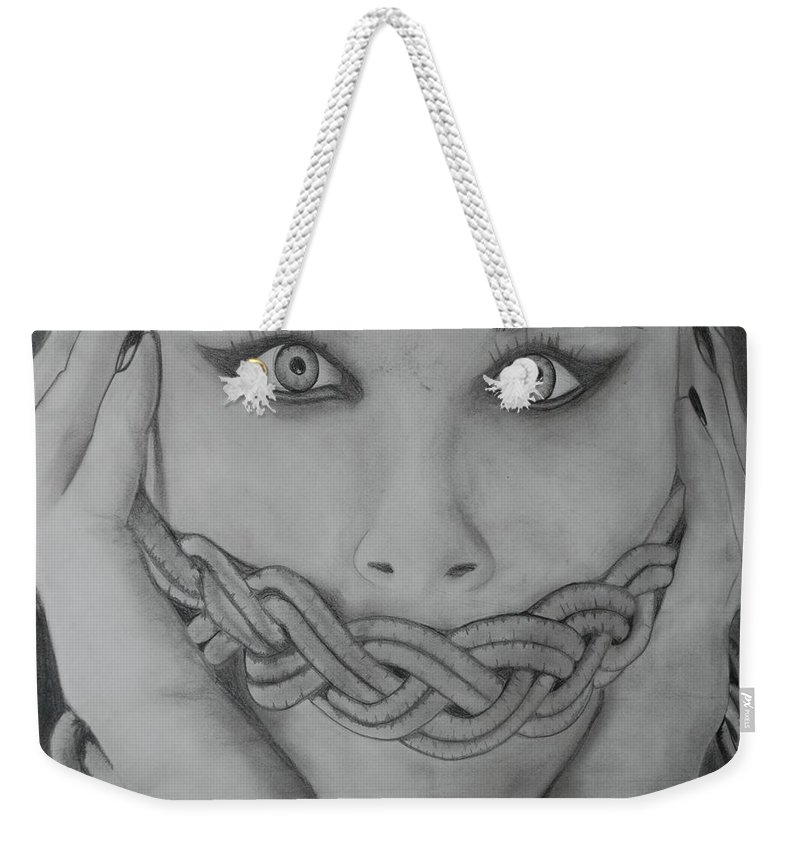 Art Weekender Tote Bag featuring the photograph Keltic Silence by Rob Hans
