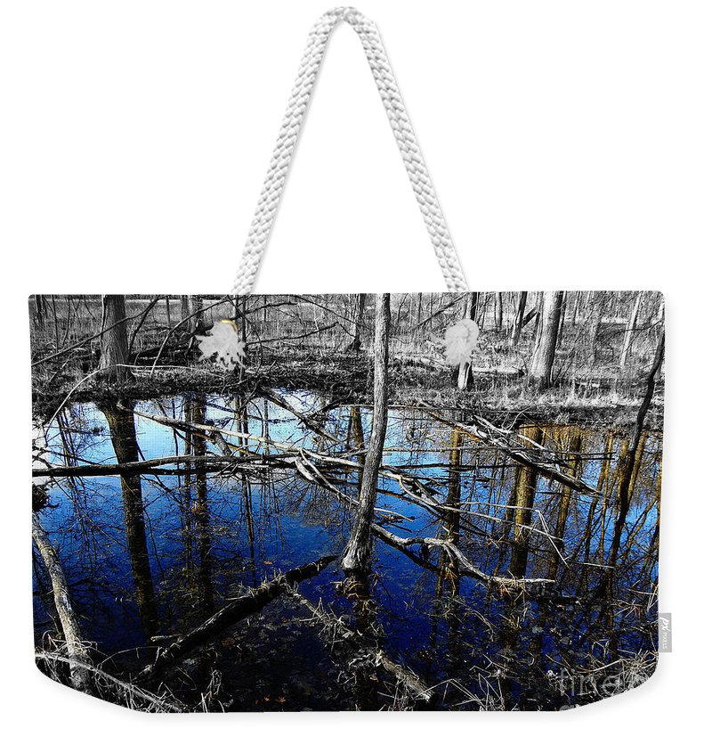 Landscape Weekender Tote Bag featuring the photograph Kensington 6 by September Stone