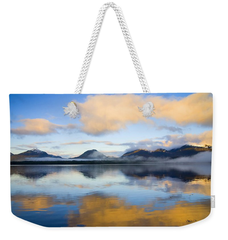 Ketchikan Weekender Tote Bag featuring the photograph Ketchikan Sunrise by Mike Dawson