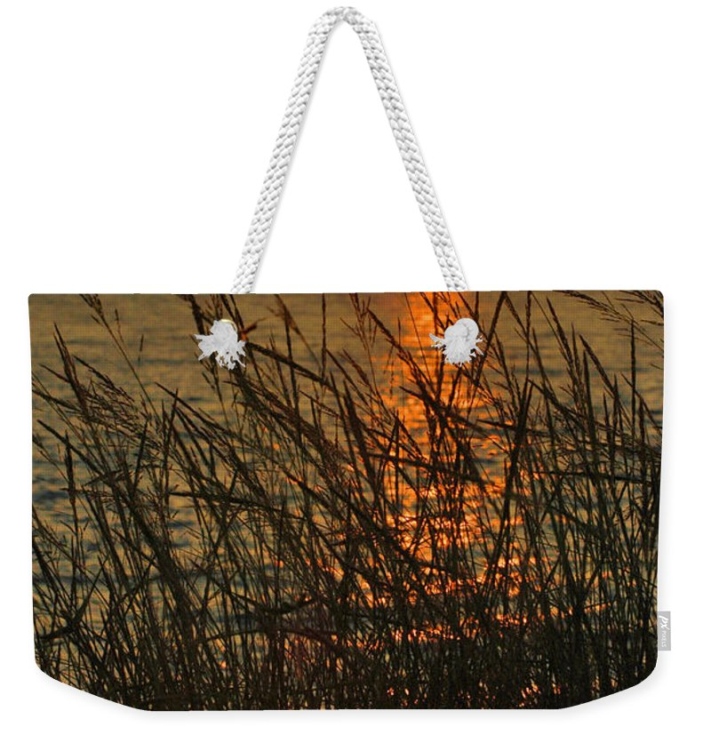 Photography Weekender Tote Bag featuring the photograph Key West Sunset by Susanne Van Hulst