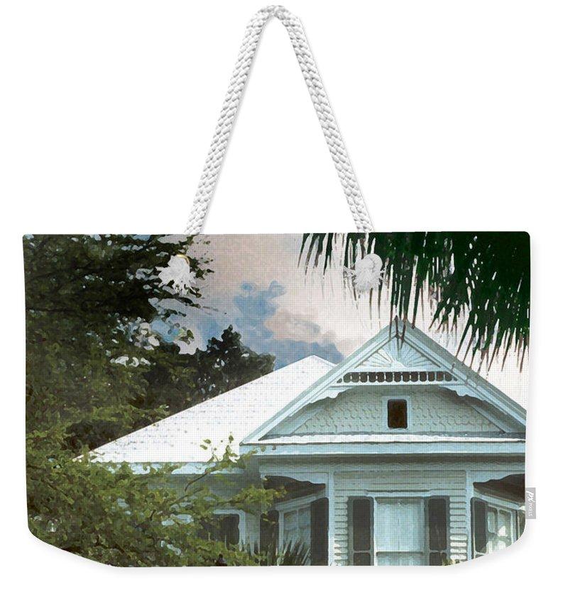 Historic Weekender Tote Bag featuring the photograph Keywest by Steve Karol
