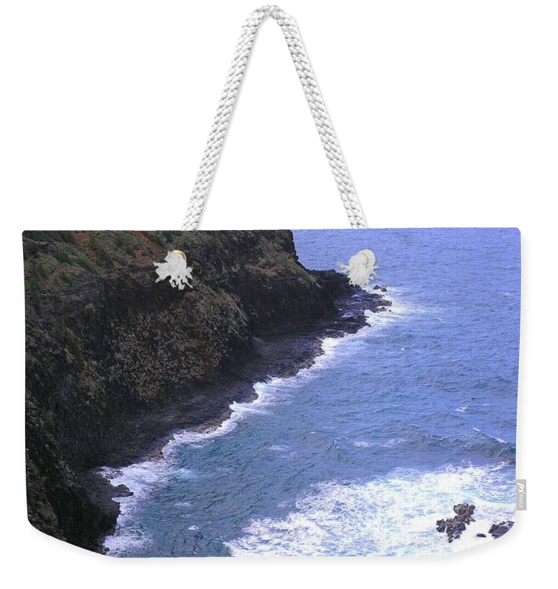 Lighthouse Weekender Tote Bag featuring the photograph Kilauea Lighthouse And Bird Sanctuary by Mary Deal