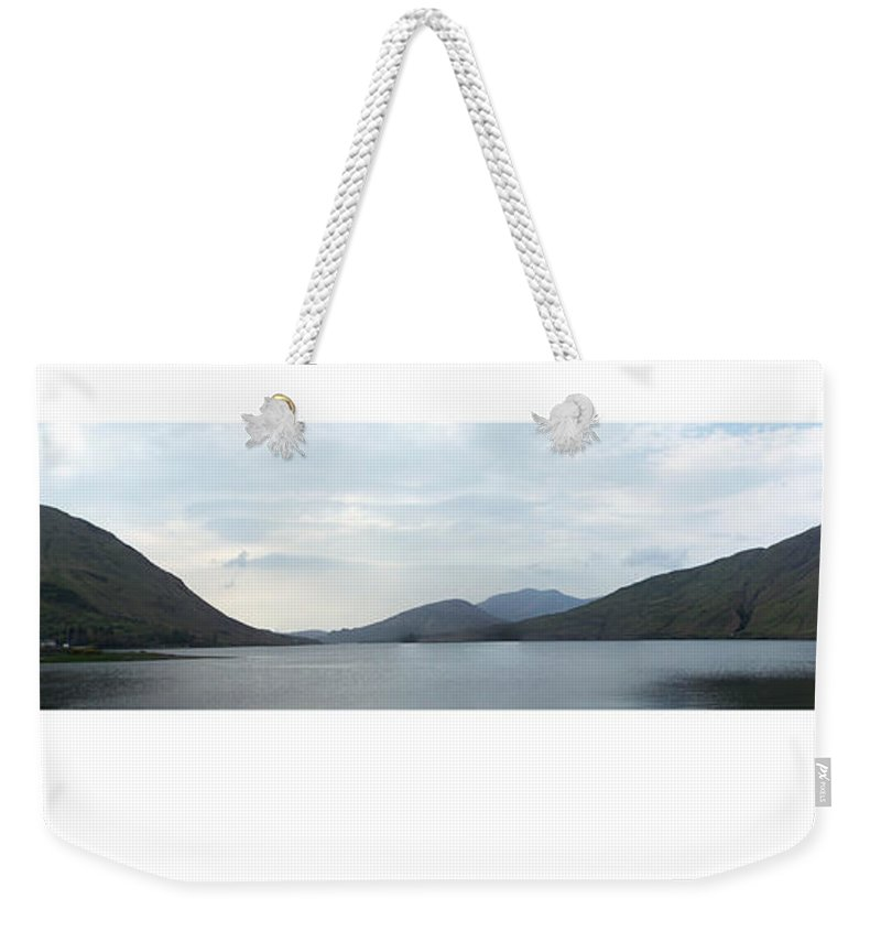 Landscape Weekender Tote Bag featuring the photograph Killary Harbour Leenane Ireland by Teresa Mucha
