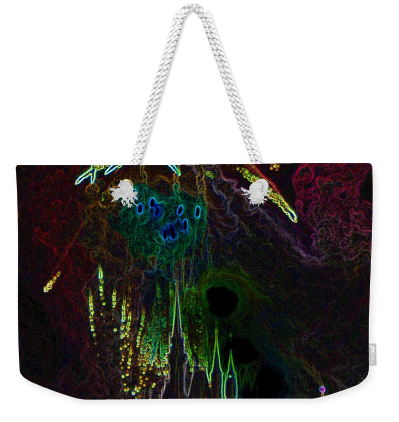 Art Weekender Tote Bag featuring the painting Kingdom by David Lee Thompson