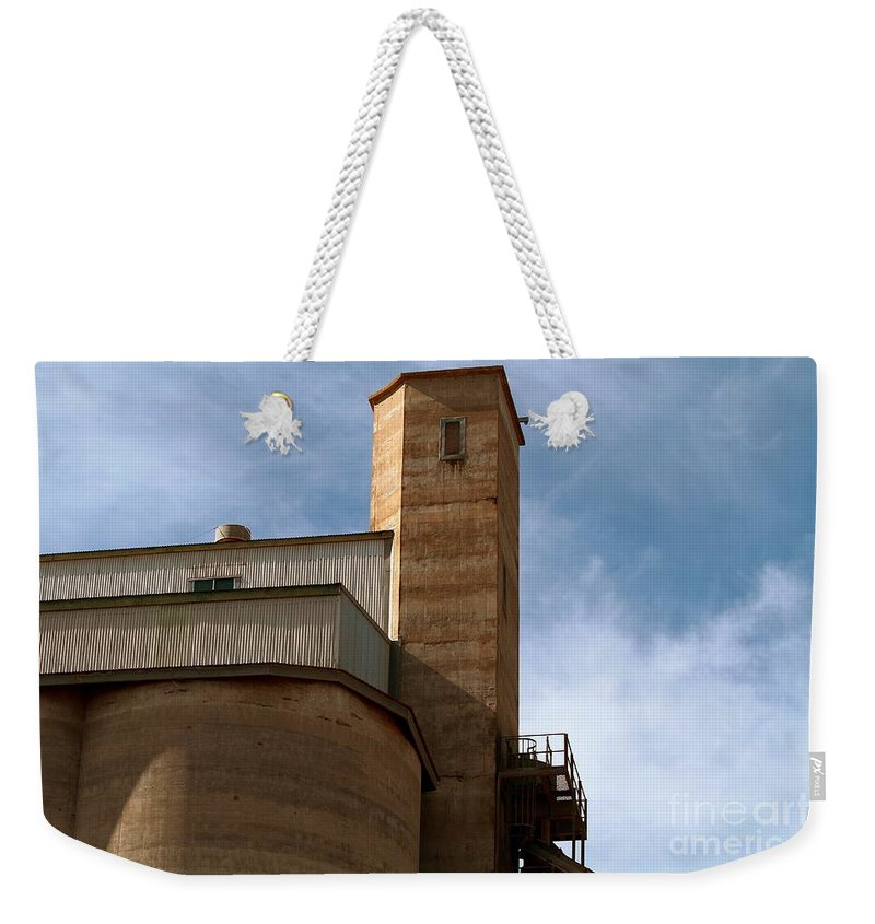Silo Weekender Tote Bag featuring the photograph Kingscote Castle by Stephen Mitchell