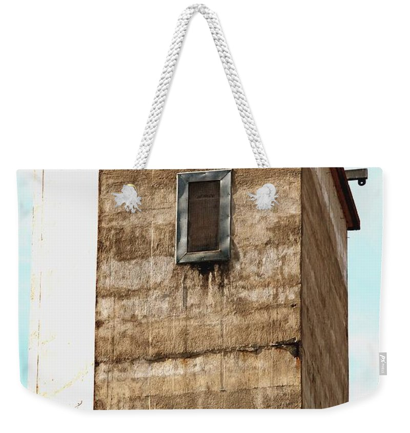 Dungeon Weekender Tote Bag featuring the photograph Kingscote Dungeon by Stephen Mitchell