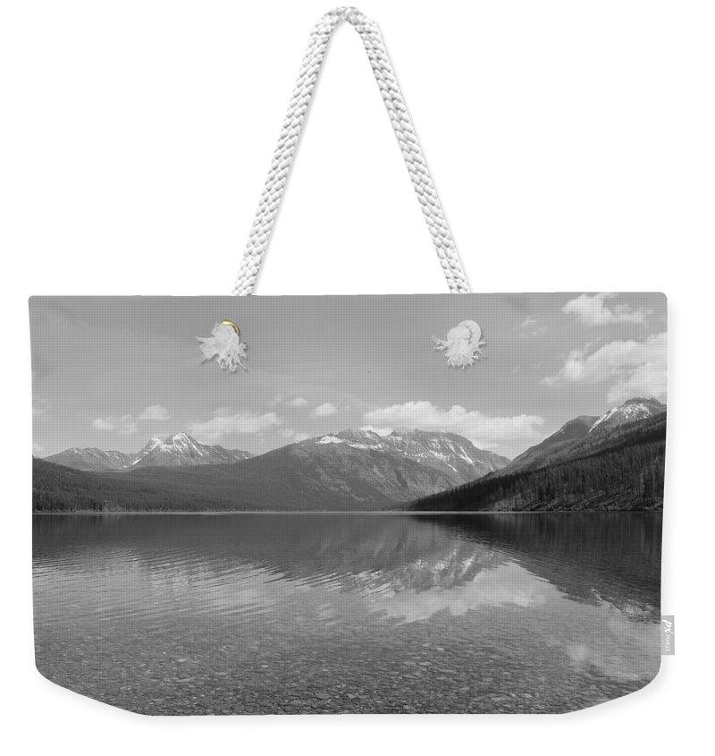 Travel Weekender Tote Bag featuring the photograph Kintla Lake by Nicholas Miller