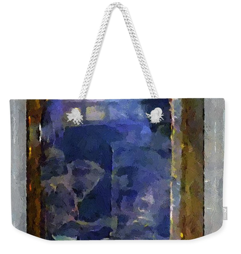 Advertising Weekender Tote Bag featuring the painting Kitchen Alchemy by RC DeWinter