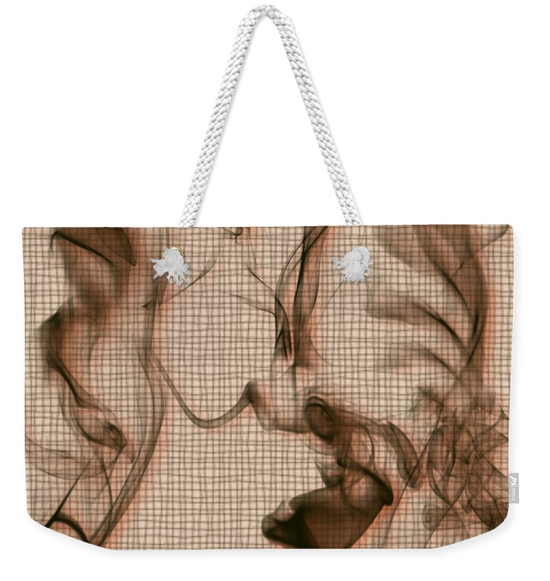 Clay Weekender Tote Bag featuring the digital art Kitchen Problems by Clayton Bruster