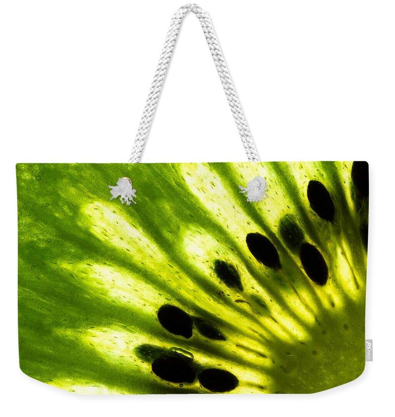 Kiwi Weekender Tote Bags