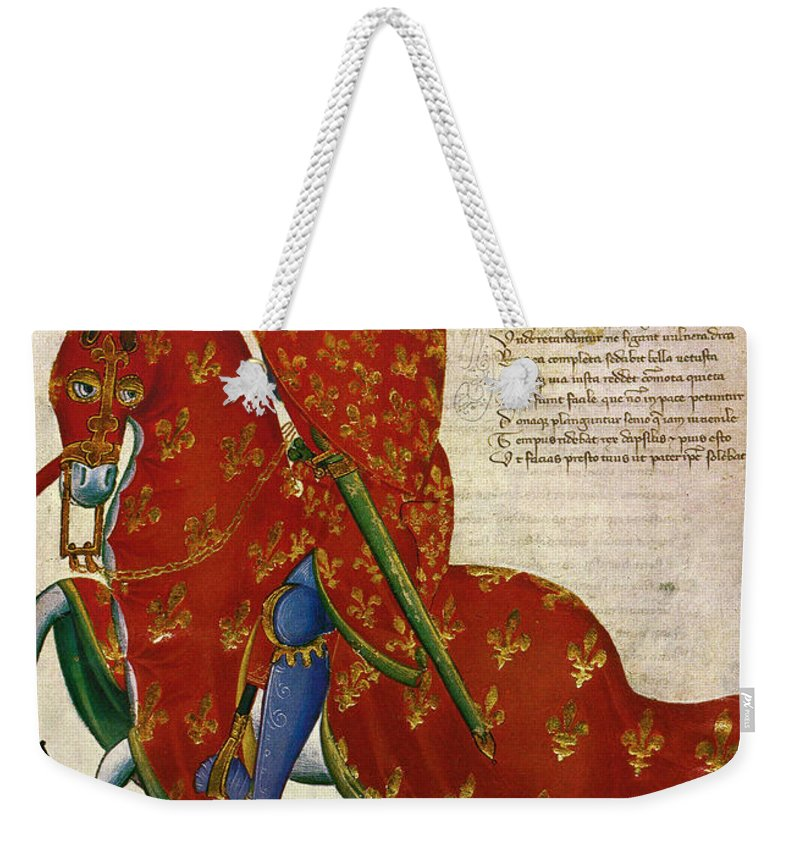 14th Century Weekender Tote Bag featuring the photograph Knight, 14th Century by Granger