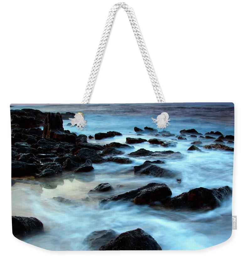 Sunrise Weekender Tote Bag featuring the photograph Koloa Dawn by Mike Dawson