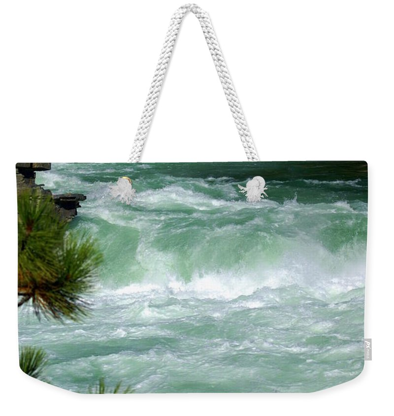 Kootenai River Weekender Tote Bag featuring the photograph Kootenai River by Marty Koch