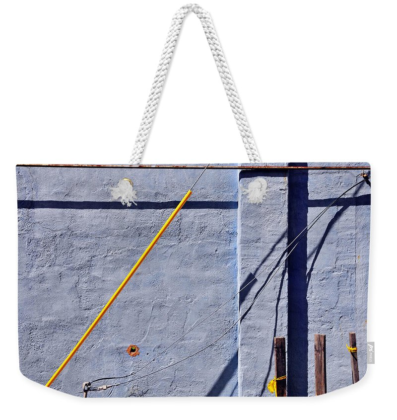Skip Hunt Weekender Tote Bag featuring the photograph Krishna Blue by Skip Hunt