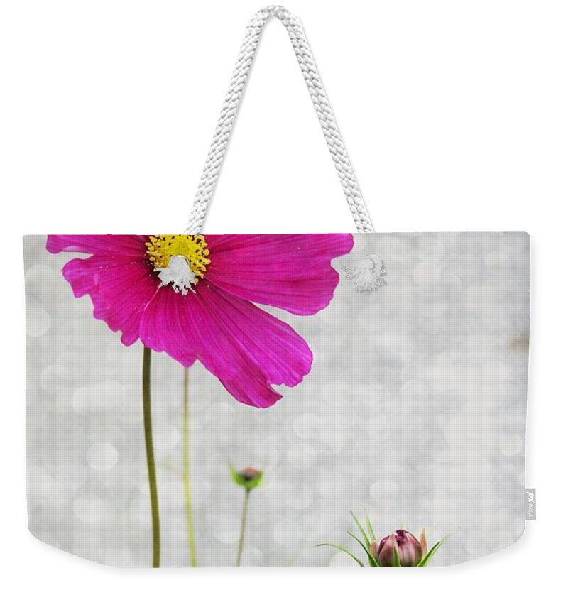Flower Weekender Tote Bag featuring the photograph L Elancee by Variance Collections