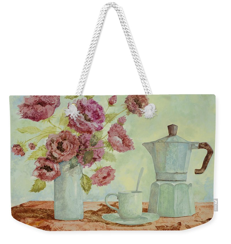 Still-life Paintings Weekender Tote Bags